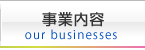 事業内容 our businesses
